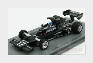【送料無料】模型車 スポーツカー f1 dn5b17 brasil gp1977rzorzispark 143 s3841モデル