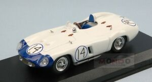 【送料無料】模型車 スポーツカー フェラーリ857 s14 dna gpキューバ1957pヒル143モデルart322モデルferrari 857 s 14 dna gp cuba 1957 p hill 143 art model art322 model