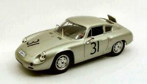 【送料無料】模型車 スポーツカー ポルシェアバルトニュルブルクリンク#ベストモデルporsche abarth nurburgring 1960 gregerlinge 31 best 143 be9447 model