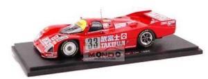 【送料無料】模型車 スポーツカー ポルシェルマンスパークモデルporsche 962 c n33 10th le mans 1988 143 spark sp1912 model
