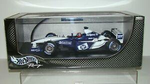 【送料無料】模型車 スポーツカー ホットホイールレーシングウィリアムズファンパブロモントーヤ listing118 hot wheels racing 2003 williams f1 bmw fw25 juan pablo montoya