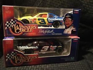 【送料無料】模型車 スポーツカー デイルアーンハート#ラングラープラス1998 winners circle dale earnhardt 3 goodwrench wrangler amp; goodwrench plus 124