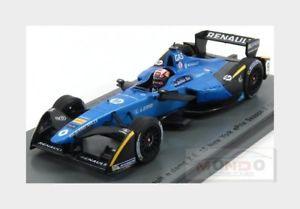 【送料無料】模型車 スポーツカー ルノーe ze169ニューヨークgp20162017pgasly spark 143 s5922モデルrenault formulae ze16 9 york gp 20162017 pgasly spark 143 s5922 model