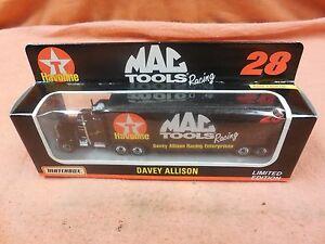 【送料無料】模型車 スポーツカー デービーアリソン28 havolineマックツールレーシングマッチボックスdavey allison,28 havoline, mac tools racing, matchbox, limited edition