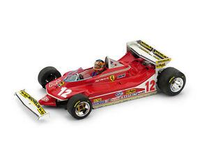 【送料無料】模型車 スポーツカー フェラーリ312 t4 gヴィルヌーヴ197912モナコgpパイロット143モデルferrari 312 t4 g villeneuve 1979 12 retired monaco gp pilot 143 model