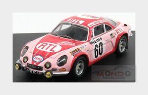 【送料無料】模型車 スポーツカー ルノーアルプスa11060ラリーmontecarlo 1972pモスcrellin trofeu143 tr0826renault alpine a110 60 rally montecarlo 1972 p moss crellin trof