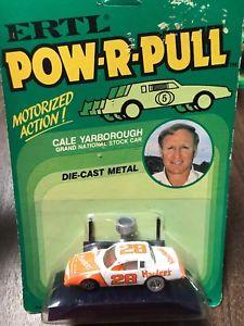 【送料無料】模型車 スポーツカー ertlrcaleリアタイヤertl powrpull cale yarborough rare grey rear tires