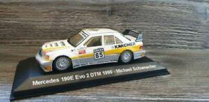 【送料無料】模型車 スポーツカー メルセデスミハエルシューマッハーチームメルセデス143 mercedes 190e evo 2 dtm 1990michael schumacher team amg mercedes