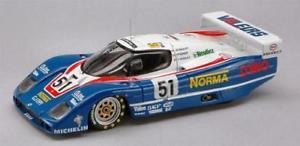【送料無料】模型車 スポーツカー ルマンモデルカーwm p 86 n51 le mans 1987 143 bizarre bz392 model car