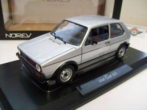 【送料無料】模型車 スポーツカー ゴルフシルバーvw golf i gti, silver, 1976, norev 118, ovp