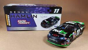 【送料無料】模型車 スポーツカー デニーhamlin 2006フェデックス1バージョン124ダイカスト denny hamlin 2006 fedex ground first win raced version 124 diecast car