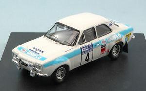 【送料無料】模型車 スポーツカー フォードエスコート#ラリークラークメイソンモデルford escort rs 1600 4 winner rac rally 1972 r clarkt mason 143 model trofeu