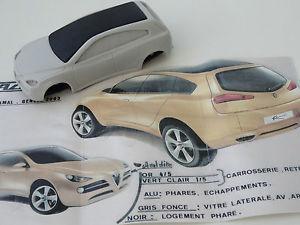 【送料無料】模型車 スポーツカー モデルアルファロメオカマルコンセプトジュネーブchestnut models 143 alfa romeo kamal concept geneve 2003