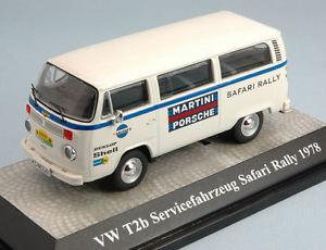 【送料無料】模型車 スポーツカー フォルクスワーゲンフォルクスワーゲンt2 bチームポルシェマティーニサファリサービス1978143モデルvolkswagen vw t2 b team porsche martini safari rally service 1978 143