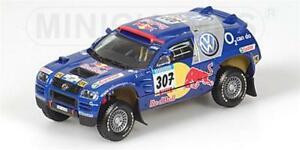 【送料無料】模型車 スポーツカー トアレグ#ダカールモデルvw race touareg 307 dakar 2005 143 minich 436055307 model