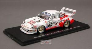 【送料無料】模型車 スポーツカー ポルシェ#デイトナスパークporsche 911 86 2nd daytona 1994 143 spark sp1933
