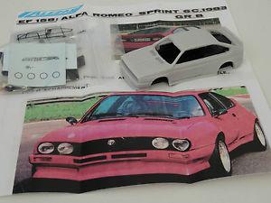 【送料無料】模型車 スポーツカー モデルアルファロメオスプリントchestnut models 143 alfa romeo sprint 6c grb 1983