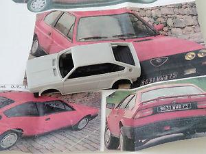【送料無料】模型車 スポーツカー モデルアルファロメオスプリント listingchestnut models 143 alfa romeo sprint qv 1,7l 1987