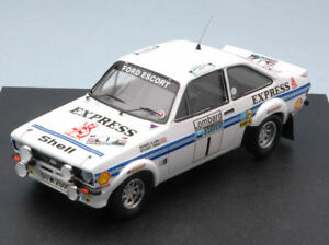 【送料無料】模型車 スポーツカー フォードescortmkii14rac1977clarkpegg 143モデルtrofeuford escort mk ii express 1 4th rac 1977 clarkpegg 143 model trofeu