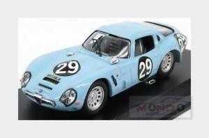 【送料無料】模型車 スポーツカー アルファロメオtz2モンツァ29クーペ1967volontero sangri143 be9141alfa romeo tz2 monza 29 coupe 1967 volontero sangri light blue best 143 b