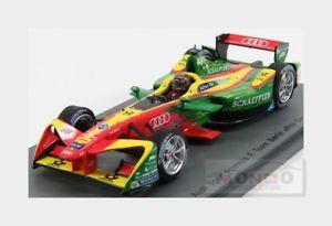【送料無料】模型車 スポーツカー アウディトロン#ベルリングランプリアプトスパークモデルaudi formulae fe02 etron 66 berlin gp 20162017 dabt spark 143 s5901 model
