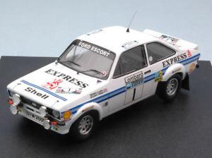 【送料無料】模型車 スポーツカー フォードエスコートエクスプレス#クラークモデルford escort mk ii express 1 4th rac 1977 clarkworse 143 model 1018 trofeu