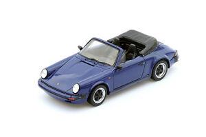 【送料無料】模型車 スポーツカー スパークポルシェカブリオレspark porsche 911 32 cabriolet 1989 s4468 143