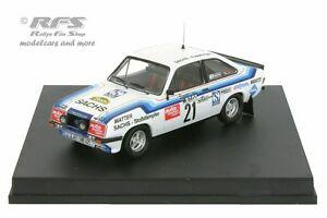 【送料無料】模型車 スポーツカー フォードエスコートサックスシュトゥットガルトラリーハウグford escort rs 2000sachsstuttgart rallye 1979haug 143 trofeu sp 10