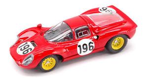 【送料無料】模型車 スポーツカー フェラーリディノ#タルガフローリオモデルferrari dino 206 196 targa florio 1966 143 model artmodel