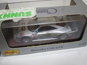 【送料無料】模型車 スポーツカー メルセデスベンツ#スケールmercedes benz clkgtr d2 10 1997 maisto 143 scale