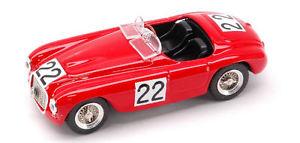 【送料無料】模型車 スポーツカー フェラーリ#ルマンモデルferrari 166 mm 22 lm le mans 1949 143 model artmodel