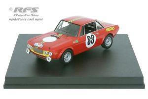 【送料無料】模型車 スポーツカー ランチアラリーポルトガルトニーケースlancia fulvia hf 1600 rally portugal 1969tony case 143 trofeu mp 207