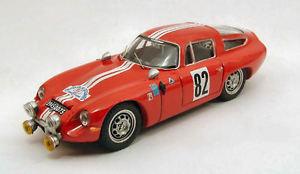 【送料無料】模型車 スポーツカー アルファromeo tz182ritchey desセヴェンヌ143モデル1965jロランalfa romeo tz1 82 winner ritchey des cevennes 1965 j rolland when talking 143