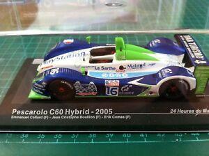 【送料無料】模型車 スポーツカー ルマン#pescatolo c60 hibryd 16 le mans 2005