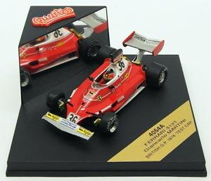 【送料無料】模型車 スポーツカー スケールフェラーリマティーニイギリステストカーquartzo 143 scale 4054af1 ferrari 312t g martini british gp 1976 test car