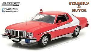【送料無料】模型車 スポーツカー starsky and hutchモデルカー124ford gran torino 1976 diecast greenlightstarsky and hutch model car scale 124 ford gran torino 19