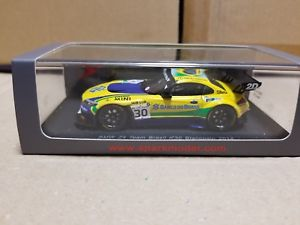 【送料無料】模型車 スポーツカー スパークチームブラジル#spark sp050 bmw z4 team brasil 30 2014 143