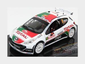【送料無料】模型車 スポーツカー プジョー#ラリーモンテカルロネットワークラムメートルpeugeot 207 s2000 9 rally montecarlo 2010 magalhaes magalhaes ixo 143 ram424 m