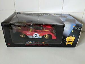 【送料無料】模型車 スポーツカー maisto models118scale model car shell edition ferrari 312p gt car maisto models ferrari 312p gt car 118 scale model car