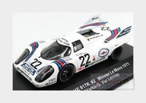 【送料無料】模型車 スポーツカー ポルシェチームマルティニレーシング#ルマンネットワークporsche 917k team martini racing 22 winner 24h le mans 1971 ixo 143 lm1971 mod