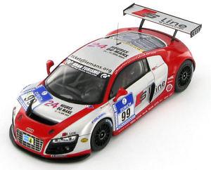 【送料無料】模型車 スポーツカー アウディ#ニュルブルクリンクaudi r8 lms 99 nurburgring 24 hours 2009 143