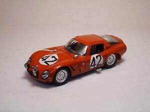 【送料無料】模型車 スポーツカー アルファロメオ#モデルモデルalfa romeo tz 2 42 44th lm 1965 geki russozuccoli 143 model best models