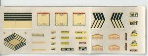 【送料無料】模型車 スポーツカー ルノーアルパインデカールラリーツールドコルスrenault alpine decals 143 1800 rally tour de corse 1973