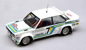 【送料無料】模型車 スポーツカー フィアットアバルト#モンテカルロfiat 131 abarth 7 3rd monte carlo 1980 b waldegaardh thorszelius 143 1414
