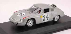 【送料無料】模型車 スポーツカー ポルシェアバルト#バルトモデルモデルporsche abarth 34 7th lm 1962 e barthh herrmann 143 model best models