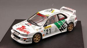 【送料無料】模型車 スポーツカー スバルimpreza21モンテカルロ1998 1431106 trofeuモデルsubaru impreza 21 monte carlo 1998 143 model 1106 trofeu