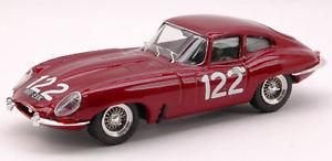 【送料無料】模型車 スポーツカー ジャガークーペ#タルガフローリオモデルモデルjaguar e coupe 122 targa florio 1963 ravettobaggio 143 model best models