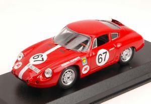 【送料無料】模型車 スポーツカー ポルシェアバルト#ロスフィールドヒルミュラーモデルporsche 356b abarth gtl 67 5th ross field hill climb h muller 143 model
