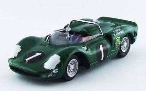 【送料無料】模型車 スポーツカー フェラーリ#キャラパイパーモデルモデルferrari p2 1 winner 9h kyalami 1965 piperattwood 143 model best models