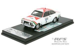 【送料無料】模型車 スポーツカー フォードエスコートラリーアリバタネンford escort rs 1800 mk ii rac rally 1976 ari vatanen 143 trofeu rruk 01
